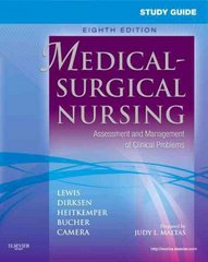 Study Guide for Medical-Surgical Nursing 8th edition 9780323066549 0323066542