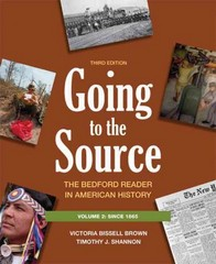 Going to the Source 3rd Edition 9780312652791 0312652798
