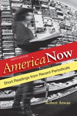 America Now 9th Edition 9780312646608 0312646607