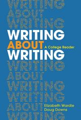 Writing about Writing 1st Edition 9780312534936 0312534930
