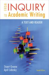 From Inquiry to Academic Writing 2nd Edition 9780312601416 0312601417