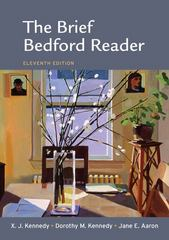 The Brief Bedford Reader 11th edition 9780312613389 0312613385
