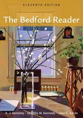 The Bedford Reader 11th edition 9780312609696 0312609698