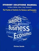 Student Solutions Manual for Practice of Statistics for Business and Economics 3rd edition 9781429242509 1429242507