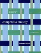 Formulation Implementation, and Control of Competitive Strategy 11th Edition 9780073368122 0073368121