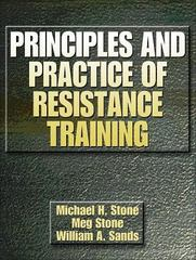 Principles and Practice of Resistance Training 1st edition 9780880117067 0880117060