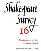 Shakespeare in the Modern World 0 9780521523523 0521523524