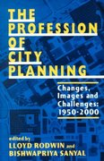 The Profession of City Planning 1st Edition 9780882851655 0882851659