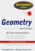 Schaum's Outline of Geometry, 4ed 4th Edition 9780071544122 0071544127
