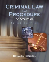Criminal Law and Procedure 3rd edition 9781111802943 1111802947