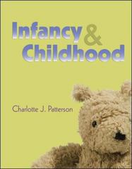 Infancy & Childhood 1st Edition 9780073355894 0073355895