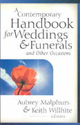 Contemporary Handbook for Weddings and Funerals and Other Ocassions 1st Edition 9780825431869 0825431867