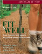 Fit and Well 8th edition 9780073325644 0073325643