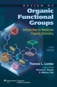 Review of Organic Functional Groups 5th Edition 9781608310166 1608310167