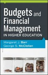 Budgets and Financial Management in Higher Education 2nd Edition 9780470616208 0470616202