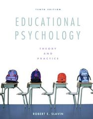 Educational Psychology 10th Edition 9780137034352 0137034350