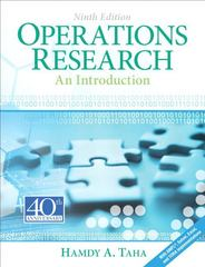 Operations Research 9th Edition 9780132555937 013255593X