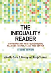 The Inequality Reader 2nd edition 9780813344843 0813344840