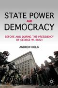 State Power and Democracy 0 9780230109353 0230109357