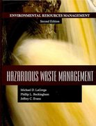 Hazardous Waste Management 2nd Edition 9781478617372 1478617373