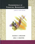 Fundamentals of Financial Management 3rd edition 9780030332630 003033263X