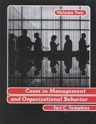 Cases in Management and Organizational Behavior, Vol. 2 1st Edition 9780130894649 0130894648
