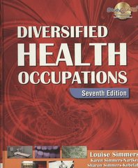 Diversified Health Occupations 7th edition 9781418030216 141803021X