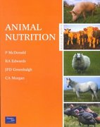 Animal Nutrition 6th Edition 9780582419063 0582419069