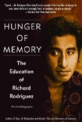 Hunger of Memory 1st Edition 9780879234188 0879234180