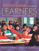 Exceptional Learners 9th edition 9780205386505 0205386504