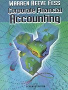 Corporate Financial Accounting 7th edition 9780324025415 0324025416