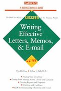 Writing Effective Letters, Memos, and E-mails 3rd edition 9780764124532 0764124536
