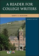 A Reader For College Writers 7th edition 9780073533094 0073533092