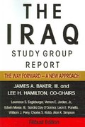 The Iraq Study Group Report 0 9781599862392 1599862395