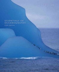 Essentials of Oceanography 5th edition 9780495555315 0495555312
