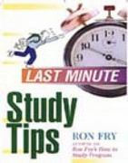 Last Minute Study Tips 1st edition 9781564142382 1564142388