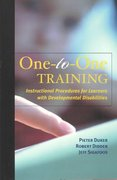 One-To-One Training 1st Edition 9780890799802 0890799806