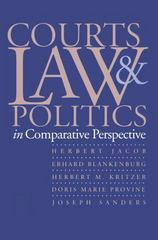 Courts, Law, and Politics in Comparative Perspective 0 9780300063790 0300063792