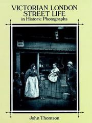 Victorian London Street Life in Historic Photographs 1st Edition 9780486281216 0486281213