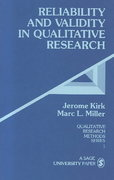 Reliability and Validity in Qualitative Research 1st Edition 9780803924703 0803924704