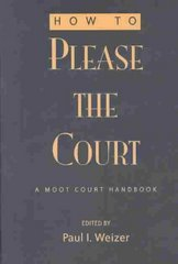 How to Please the Court 3rd Edition 9780820469492 0820469491