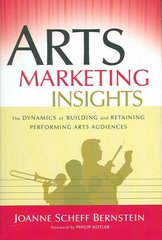 Arts Marketing Insights 1st edition 9780787978440 0787978442