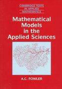 Mathematical Models in the Applied Sciences 0 9780521467032 0521467039