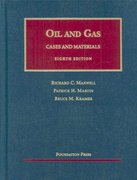 The Law of Oil and Gas 8th Edition 9781587789885 1587789884