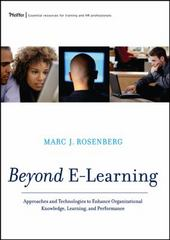 Beyond E-Learning 1st edition 9780787977573 0787977578