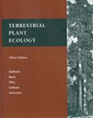 Terrestrial Plant Ecology 3rd Edition 9780805300048 080530004X