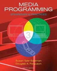 Media Programming 8th edition 9780495500537 0495500534