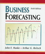 Business Forecasting 6th edition 9780137607457 0137607458