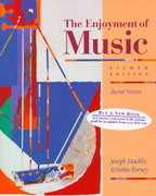 The Enjoyment of Music 8th Edition 9780393973013 0393973018