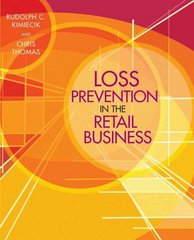 Loss Prevention in the Retail Business 1st edition 9780471723219 0471723215